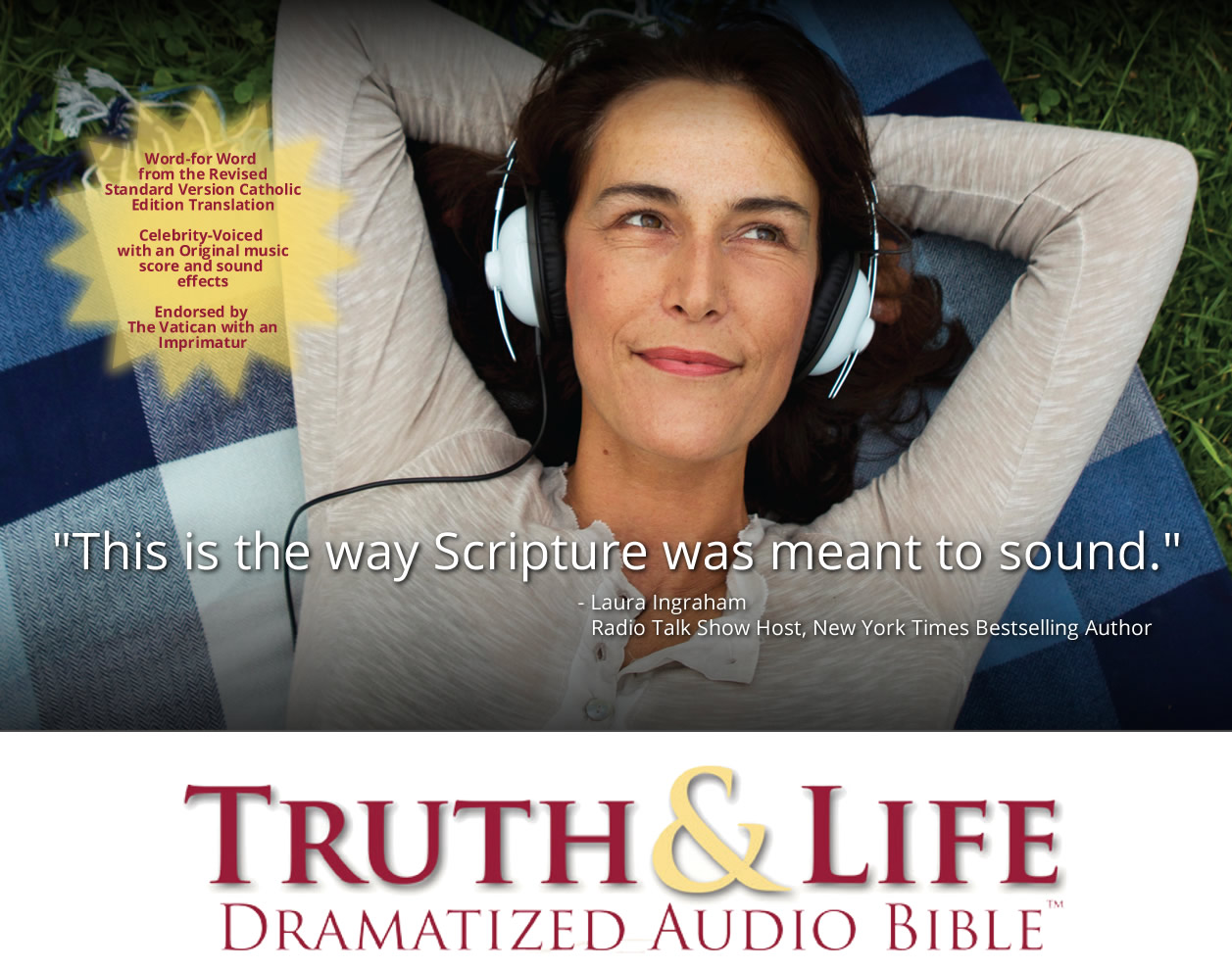 Catholic Audio New Testament Bible | Order for only $29 99, call